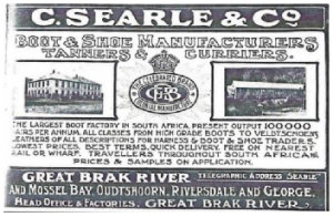 Searles Leather Expansion; 1895 to 1920 and a look at the Early Leather Industry